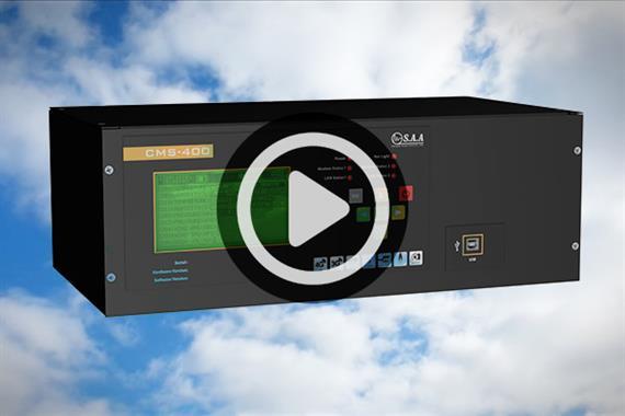 معرفی دیتالاگر سیستم مانیتورینگ هواشناسی CMS-400